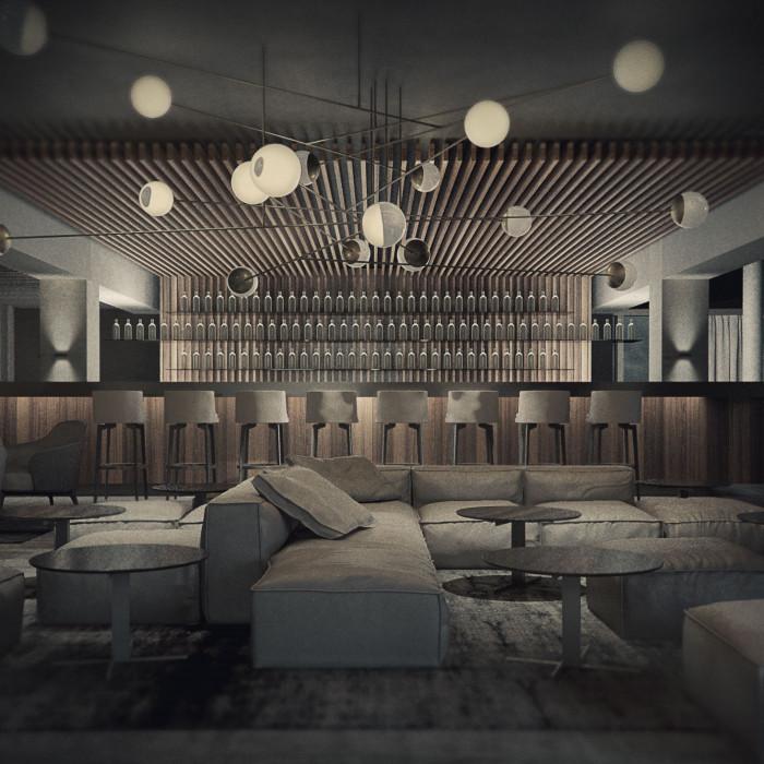 Hotel- und Abend-Bar